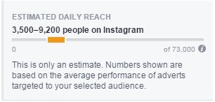 Video ad reach on instagram