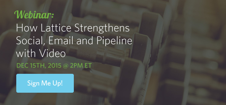 Video Strengthens Pipeline Webinar