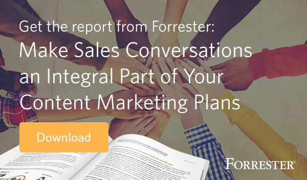 Forrester Sales Content