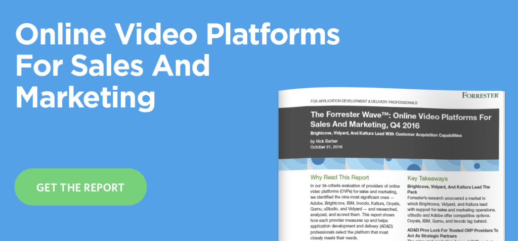 online video platforms for marketing and sales
