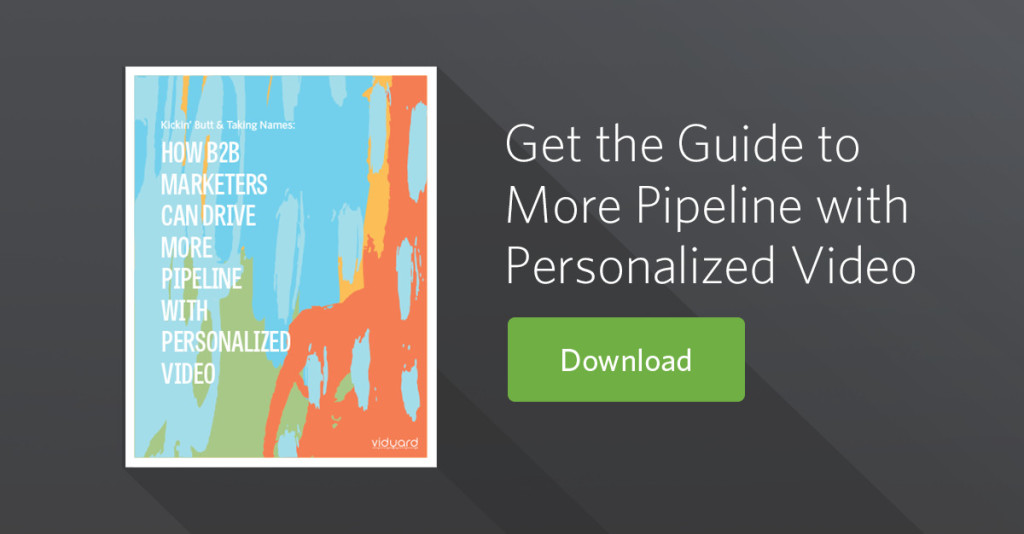 personalized video pipeline