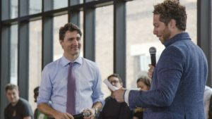 Justin Trudeau and Michael Litt - Feature