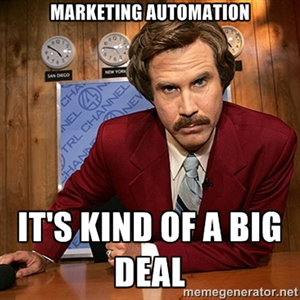 Marketing automation, it's kind of a big deal