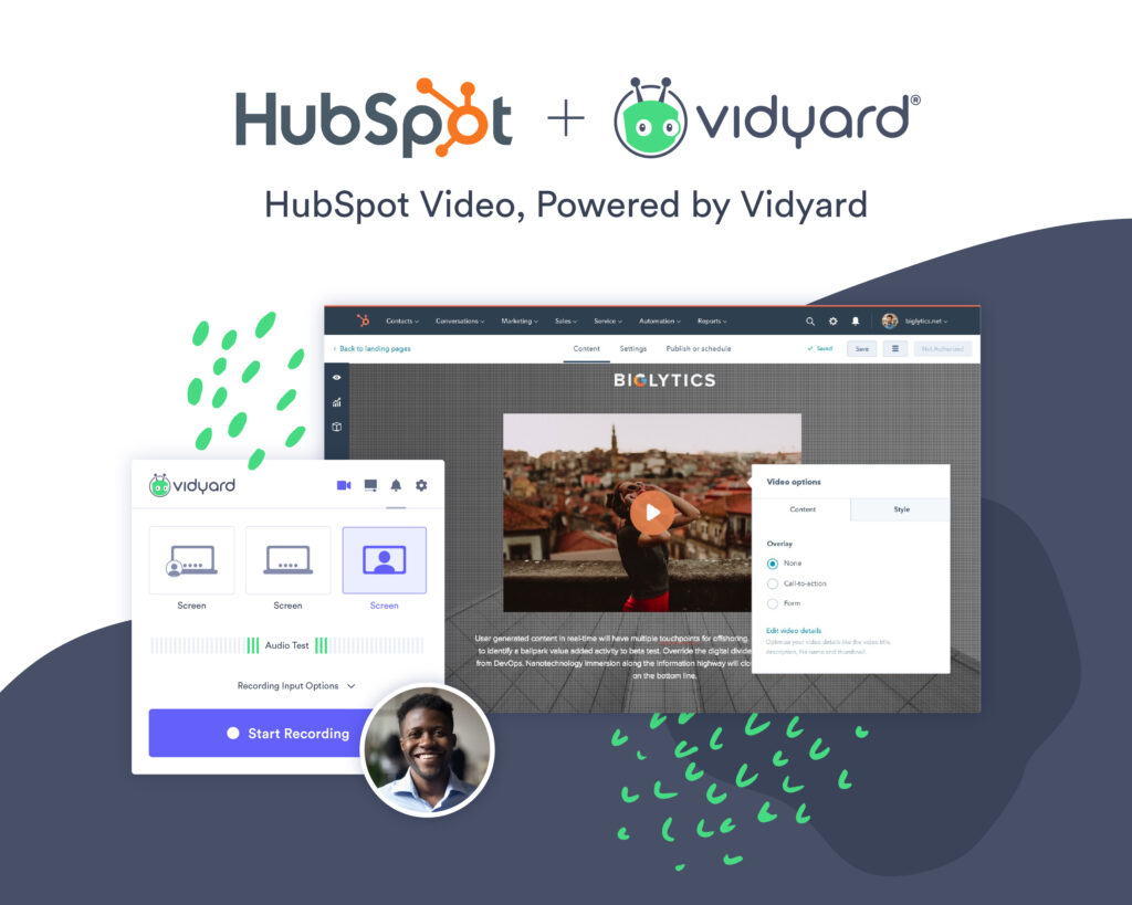 Vidyard Powers New Video Insights and Reporting Tools in HubSpot Video
