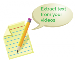 Transcribe your video marketing