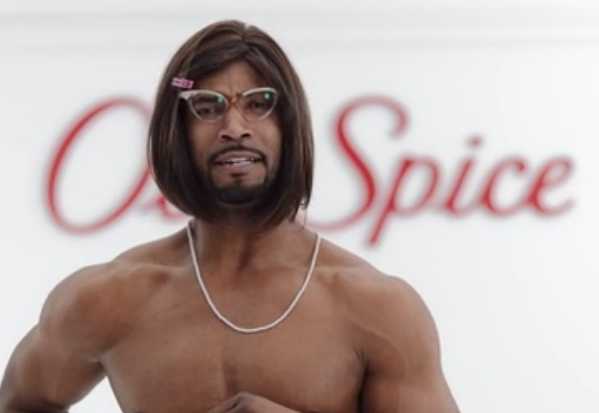 Old Spice Guy is not angry, he's disappointed