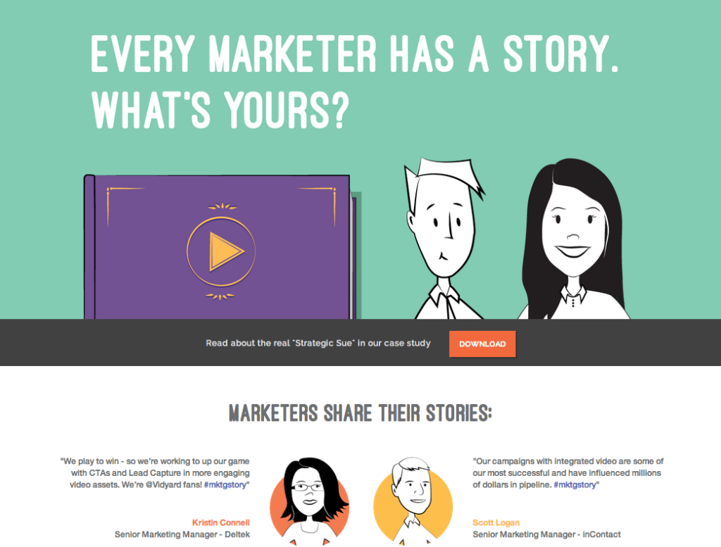 Watch the Tale of Two Marketers