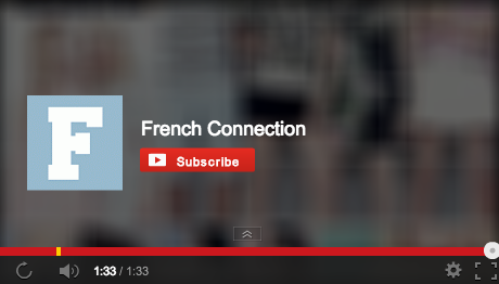 End of a French Connection video
