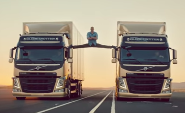 Volvo's Epic Split video