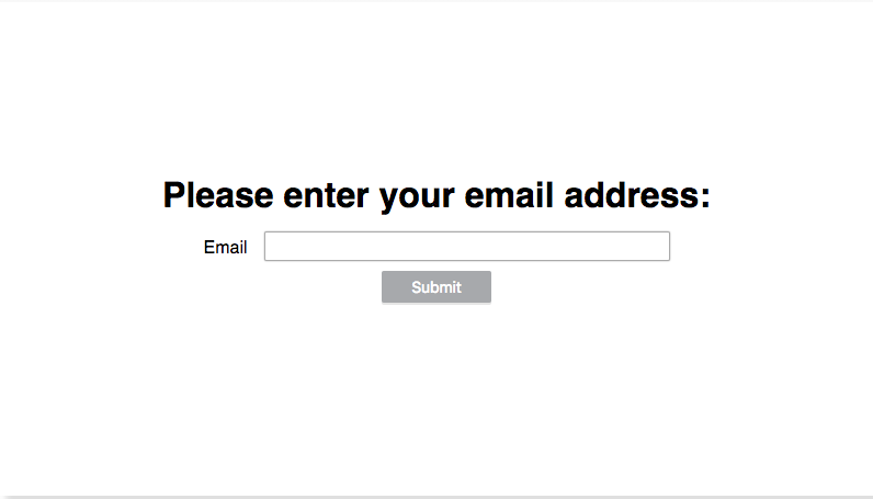 Enter email