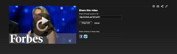 Video Sharing Screen