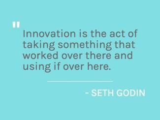 Seth Godin Innovation Quote