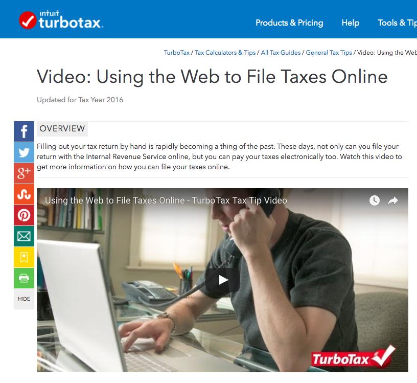 TurboTax Customer Support Videos