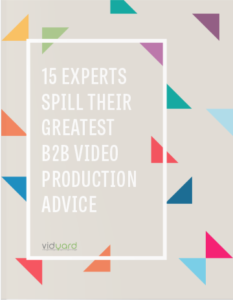 15 video production tips