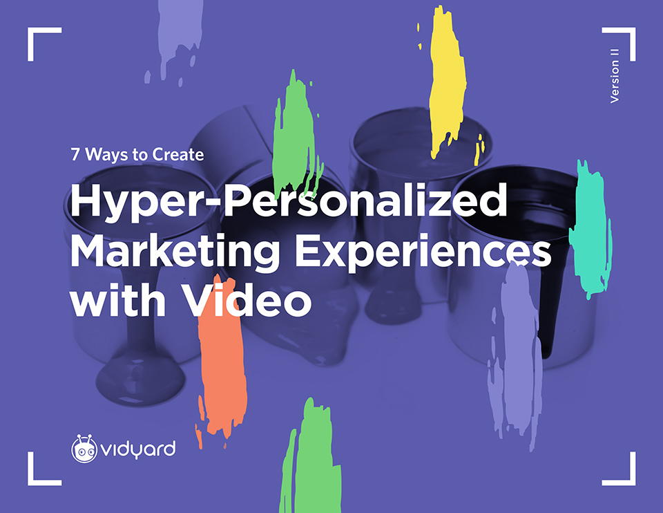 Great Personalized Marketing Begins and Ends with Video