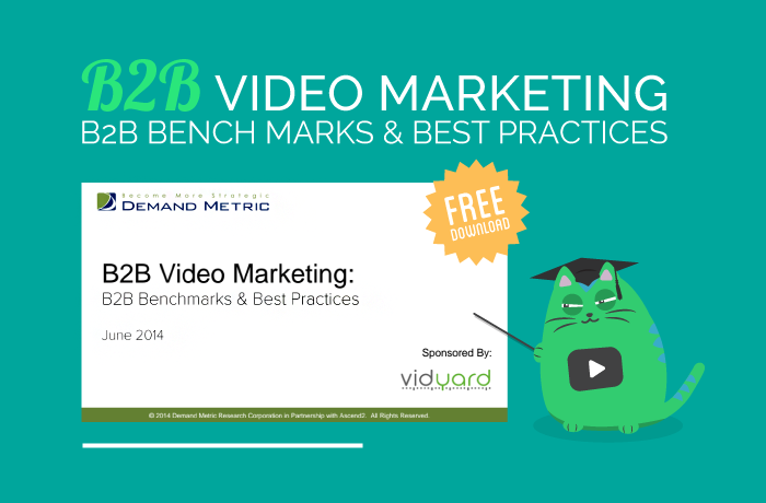 Download the B2B benchmark report