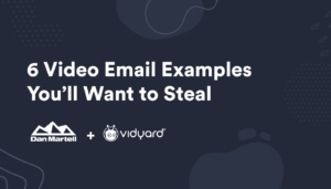Blog CTA image for the Video Email Examples Guide