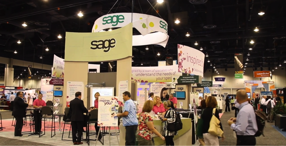 Stand out on the conference floor with video