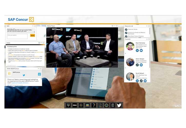 Image showing online events platform.