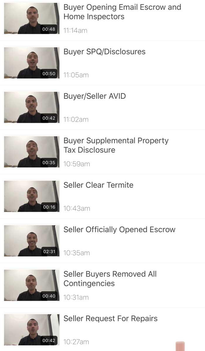 Real Estate Marketing Video Playlist