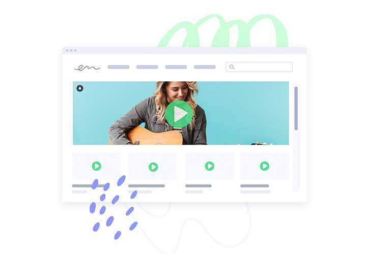 Video playlist hub for remote prospecting