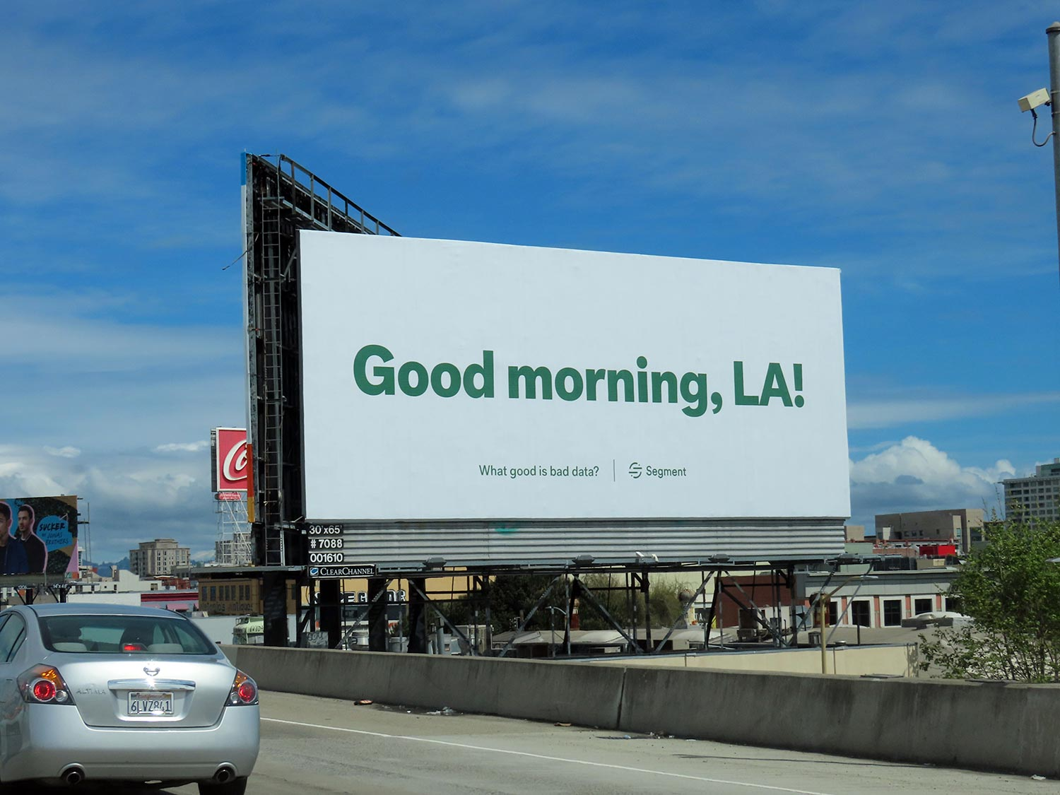 Data platform Segment shows a masterful command of effective startup marketing in this billboard and social media campaign