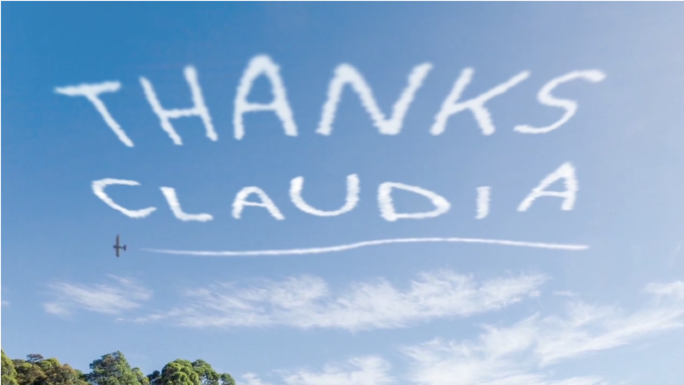 Thanks Claudia