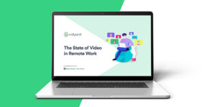cover image of The State of Video in Remote Work: Demand Metric Report on a laptop