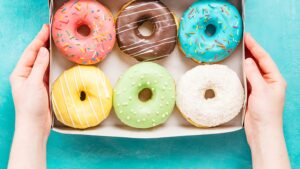 donuts represent different types of sales videos