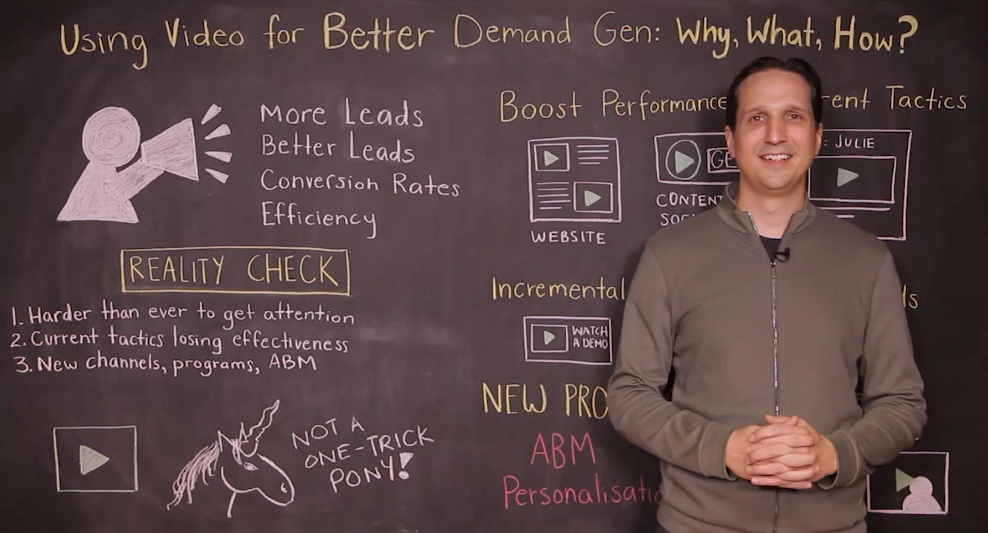 Vidyard Chalk Talk Using Video for Better Demand Generation