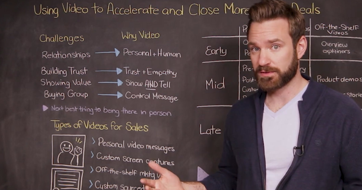 Using Video to Accelerate and Close More Sales Deals