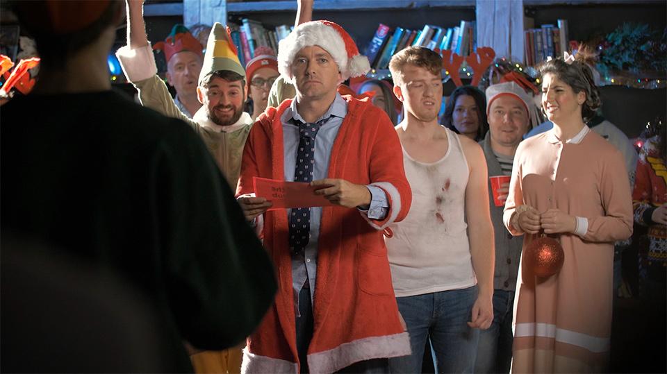 a glimpse at Vidyard's Telly award-winning holiday video
