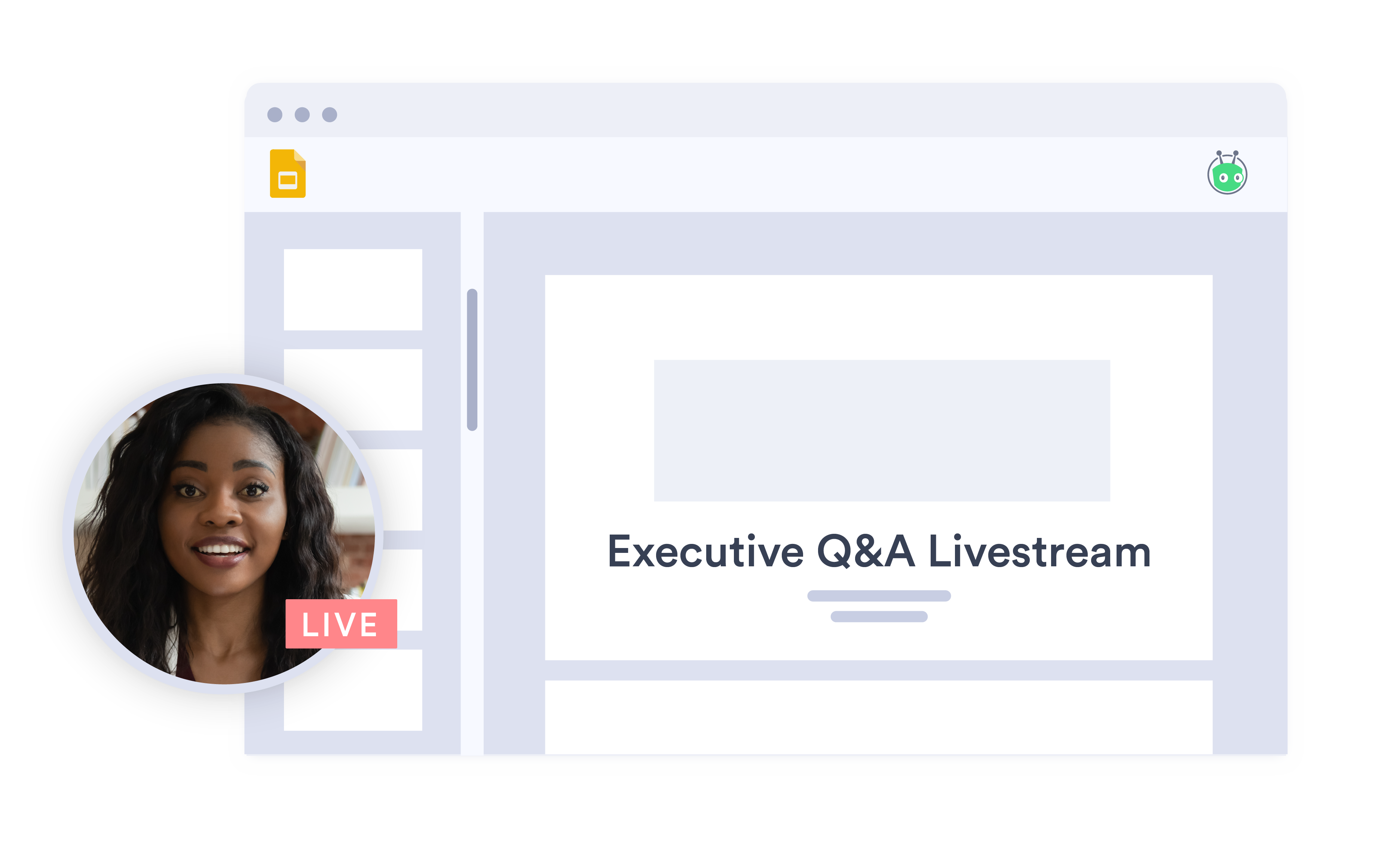 Live stream your corporate communications with Vidyard's secure video streaming