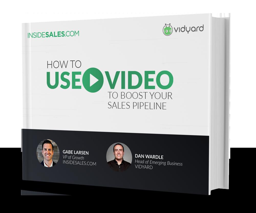 a video sales book rendering