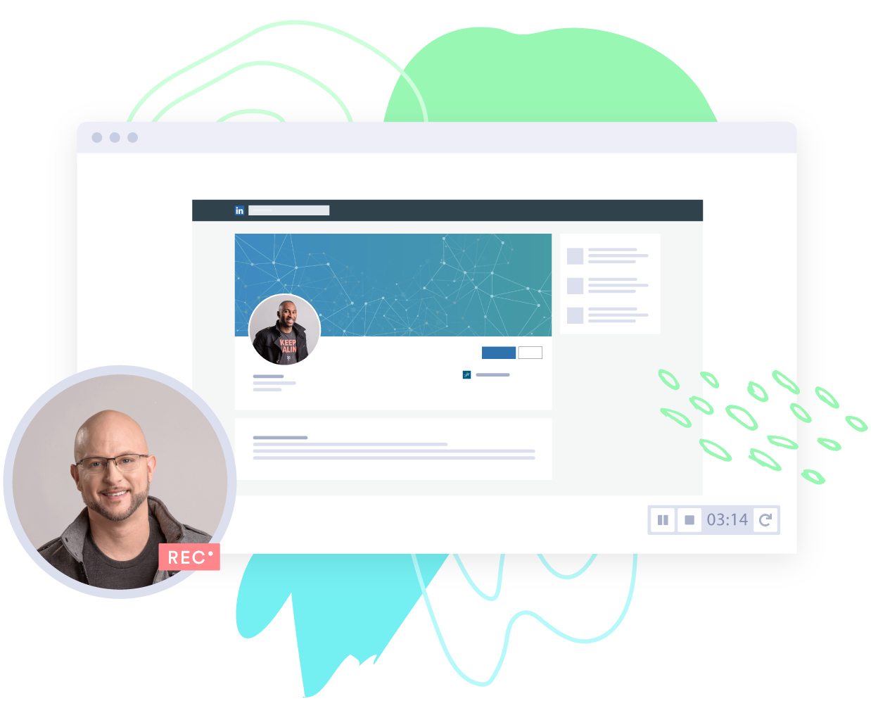 A sales rep uses Vidyard as a sales tool to connect, convert, and close more business.
